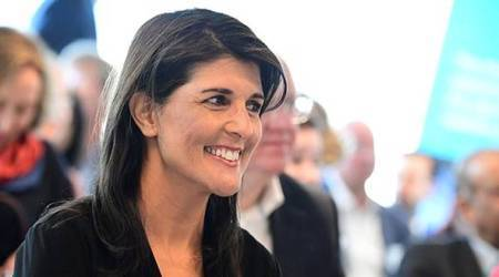 Nikki Haley's pushback on Russia sanctions draws fans, rattles WhiteHouse