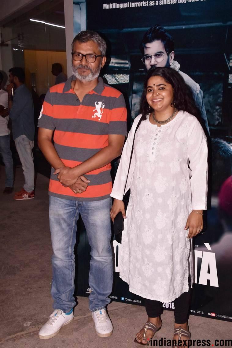 nitesh tiwari, ashwini iyer attend omerta screening