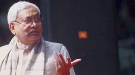 Bihar Chief Minister Nitish Kumar.