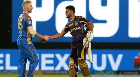 Indian Premier League 2018 RR vs KKR: Knights breach fortressJaipur
