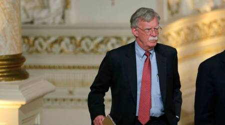 U.S. security adviser John Bolton met Russian security official in Moscow: Report