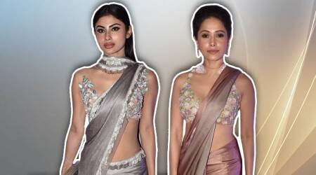 Nushrat Bharucha or Mouni Roy: Who wore the Manish Malhotra sari better?