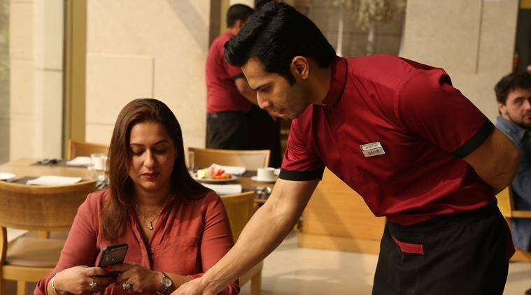 varun dhawan in a still from october