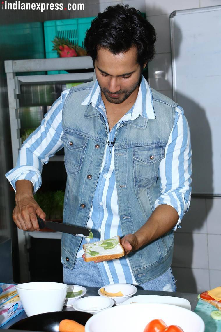 Varun dhawan october photos