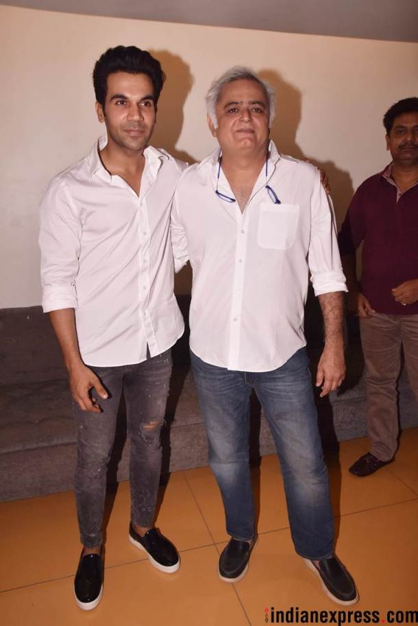 hansal mehta and rajkummar rao