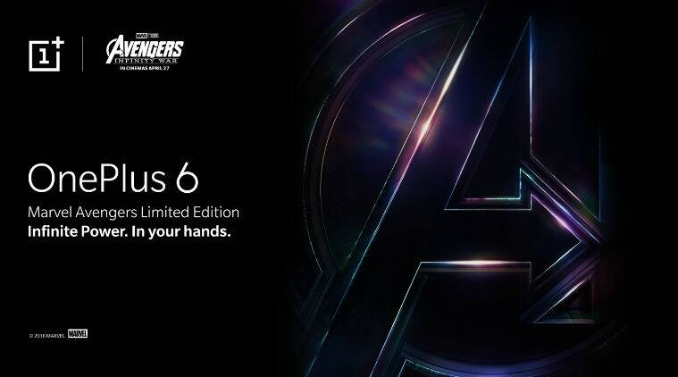 OnePlus 6 Marvel Avengers Edition India launch confirmed for May 17, will be Amazon exclusive