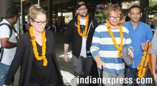 American band OneRepublic gets warm welcome in India