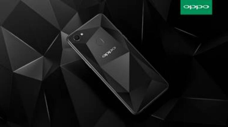 oppo f7 diamond black variant with 6gb ram and 128gb storage