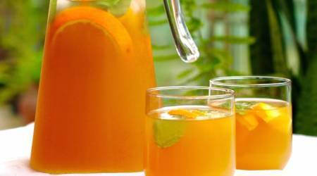 Orange Cinnamon tea, cool summer drinks, flavoured tea, refreshing drinks, iced teas, tasty drinks for summer, healthy summer drinks, indian express, indian express news