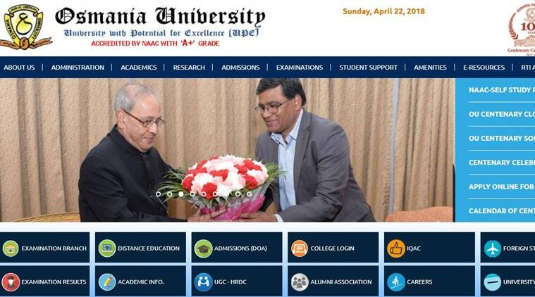OUCET 2018, Osmania University Common Entrance Tests 2018, osmania.ac.in, ouadmissions.com