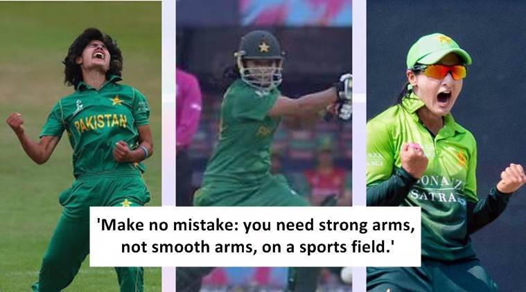 pakistani captain post on body shaming, pakistani captain viral post on beauty, sana mir viral post, sana mir post advice for young girls, indian express, indian express news