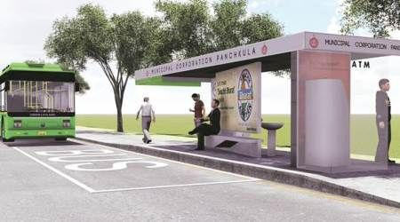 Pilot Project in Sectors 15 and 9  Coming soon: New bus queue shelters in Panchkula
