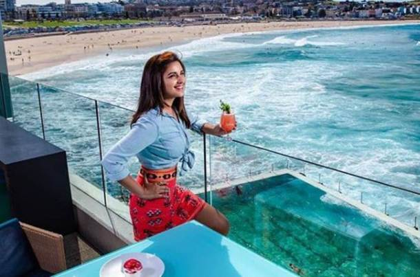 parineeti chopra on vacations