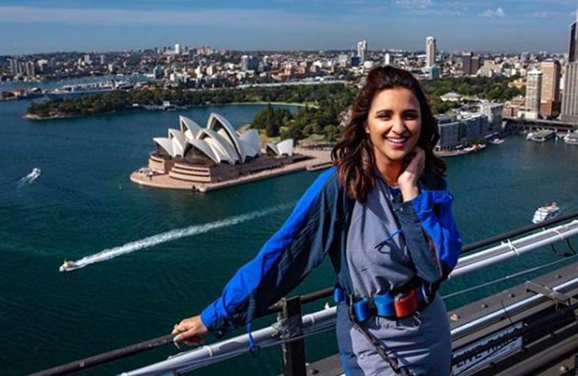 parineeti chopra in sydney harbour