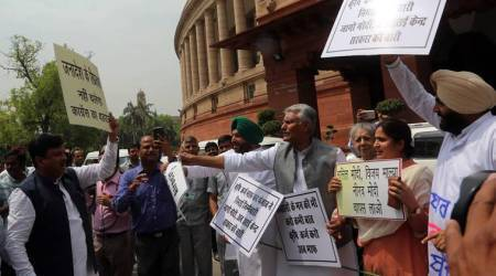 Parliament adjourned sine die amid continuing protests; 250 working hours wasted bydisruptions