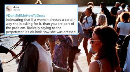 Women flood Twitter with #DontTellMeHowToDress after being asked to 'dress conservatively' for Thai New Yearcelebrations