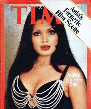 parveen babi on the cover of time magazine
