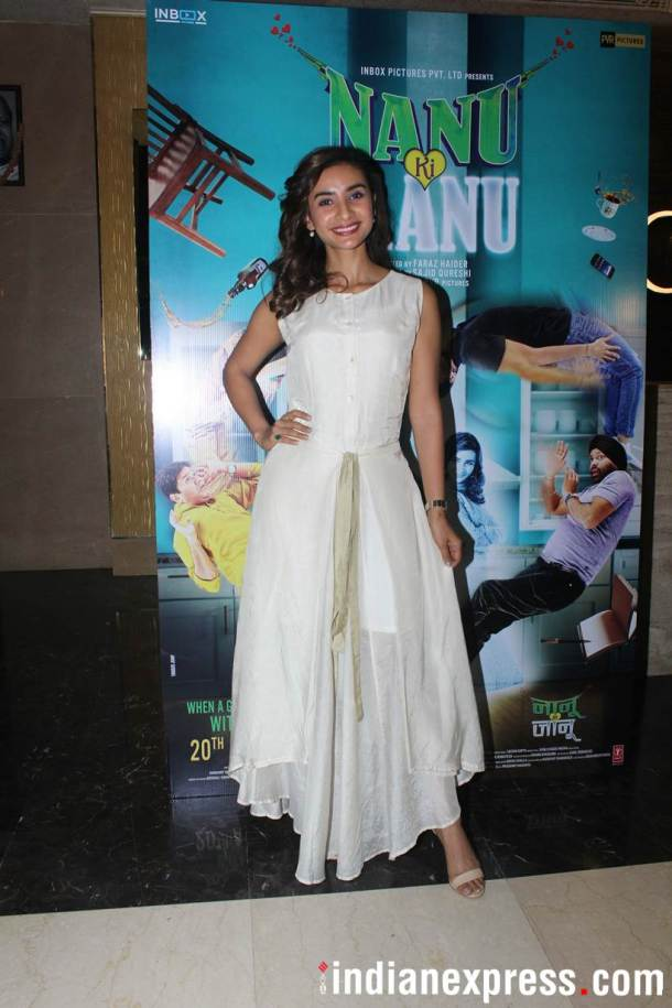 Patralekhaa Special screening of Nanu Ki Jaanu