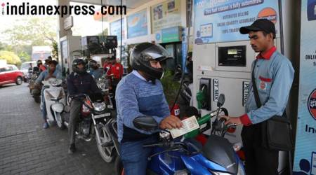 Petrol price hits four year high at Rs 73.73, diesel at highestlevel