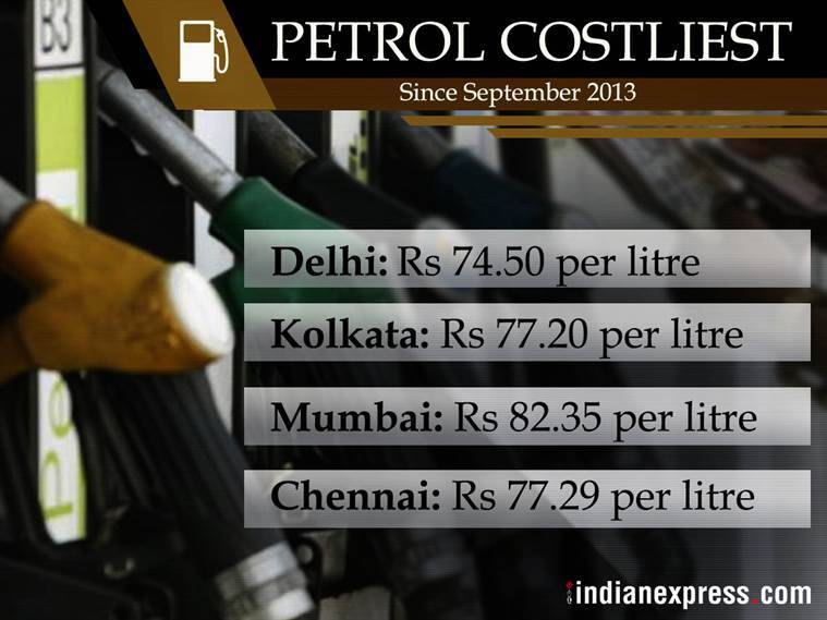 petrol prices, fuel price hike, petrol price rise, fuel price hike, indian express, spike in fuel prices, finance ministry