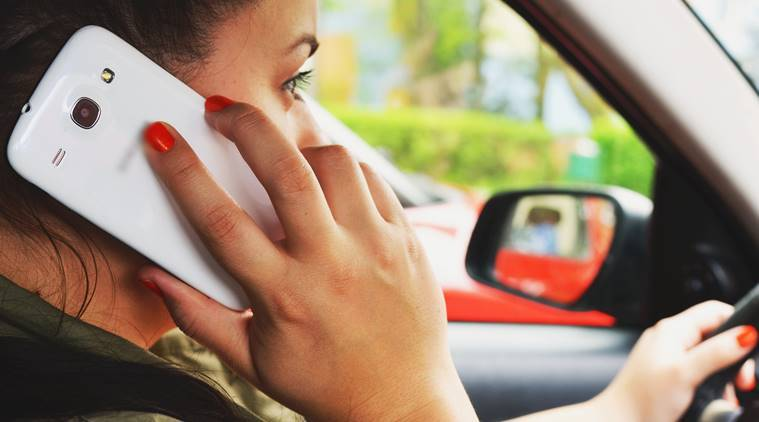 Phone use slows down drivers' reaction by up to 204 per cent