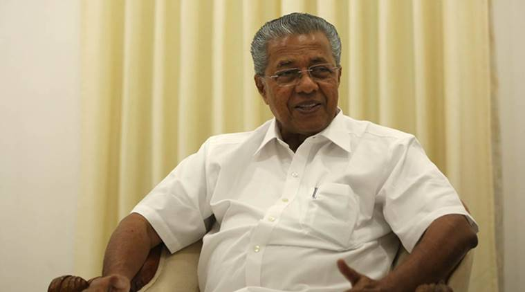 Kerala Chief Minister Pinarayi Vijayan. (Express photo/Tashi Tobgyal)