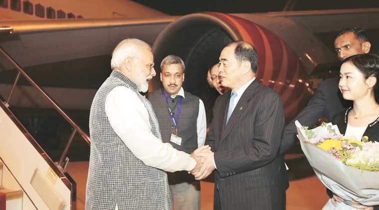 narendra modi, modi in china, modi china visit, xi jinping, modi china, modi xi meeting, narendra modi in china, india china relations, indian express