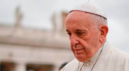 Pope Francis: Climate change turning Earth into desert, garbage