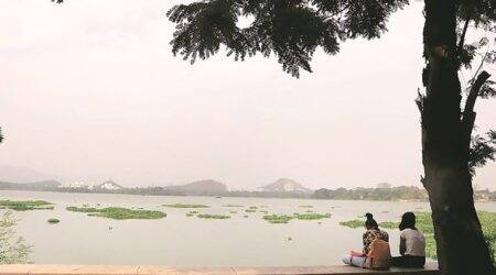 mumbai city news, powai lake, bmc, crocodile park, indian express