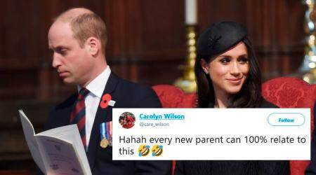 VIDEO: Prince William struggles to stay awake during ANZAC day service; Parents find it 'totally relatable'