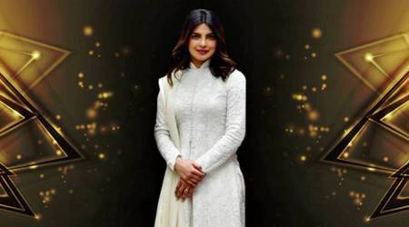 Priyanka Chopra meets Narendra Modi; keeps her traditional game strong in a pristine white Rohit Bal sherwani