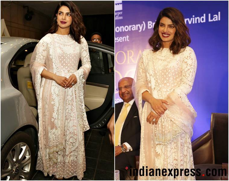 Priyanka Chopra, Rohit Bal, Priyanka Chopra fashion, Priyanka Chopra style, Priyanka Chopra latest photos, Priyanka Chopra latest news, Priyanka Chopra images, Priyanka Chopra pictures, Priyanka Chopra updates, indian express, indian express news