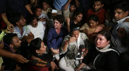 What made Priyanka Gandhi lose her cool at the candlelight protest march