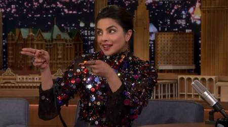 Priyanka Chopra talks about the royal wedding on The Tonight Show with Jimmy Fallon