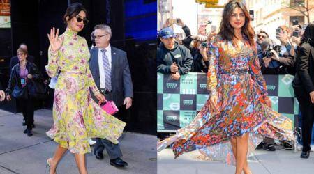 Bollywood Fashion Watch for April 27: Priyanka Chopra shows us how to master breezy printed dresses