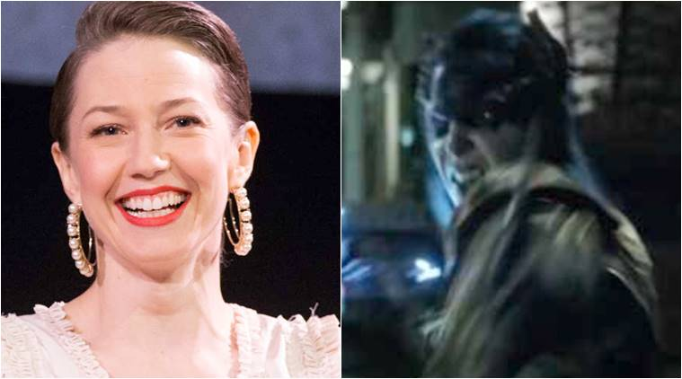 Carrie Coon playing Proxima Midnight in Avengers Infinity War photos