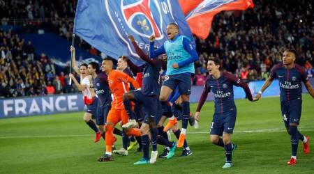 PSG win French League title after crushing defending champions Monaco7-1