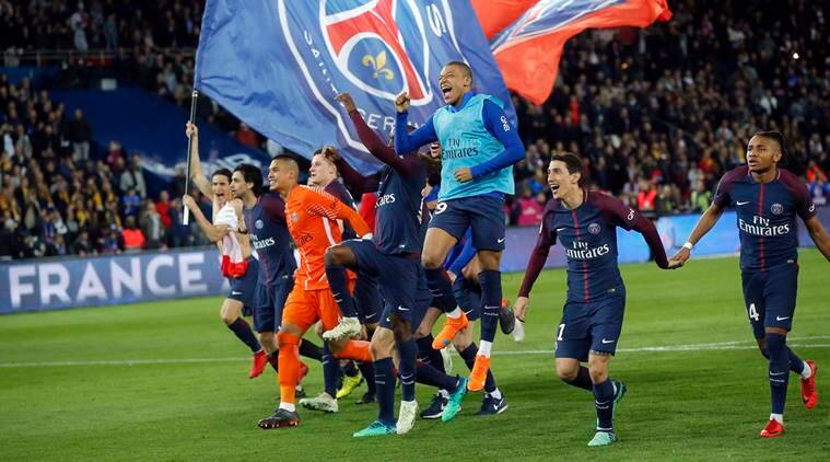 PSG Win French League Title After Crushing Defending