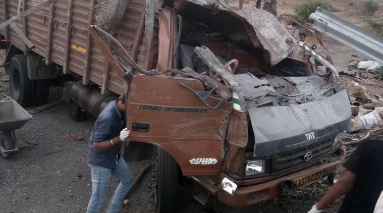 Pune: Truck carrying labourers' families falls off road, 17 including children dead