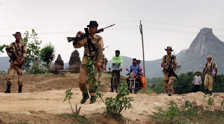 Maoist territory
