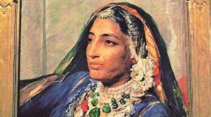 Last Sikh Queen's earrings fetch nearly six times auctionestimate