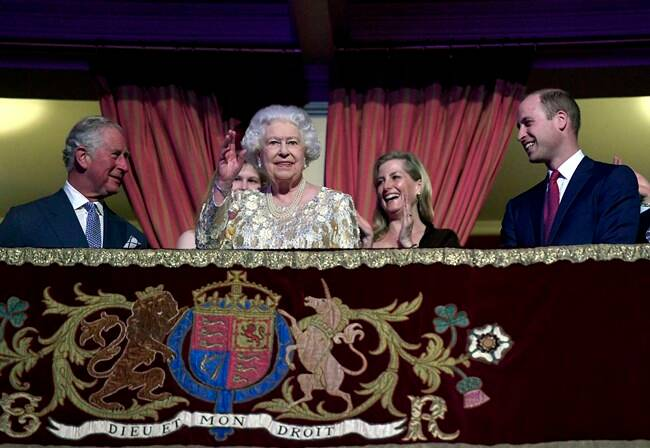 Queen Elizabeth II celebrates 92nd birthday with star-studded concert