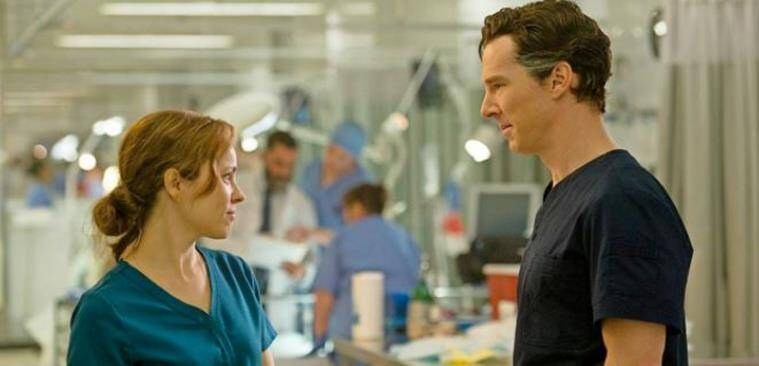 benedict cumberbatch and rachel mcadams in MCU's doctor strange