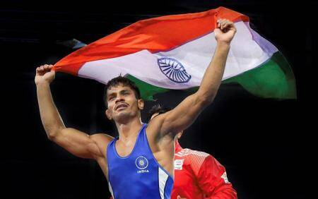 rahul aware, aware, cwg winner, commonwealth games winner, wrestling, wrestling federation of india, wfi, asian games trials, asian games, sports news, indian express