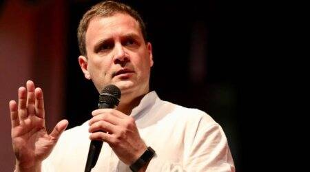 Amethi: Rahul Gandhi targets PM Modi, says not even given 15 mins to speak in Parliament