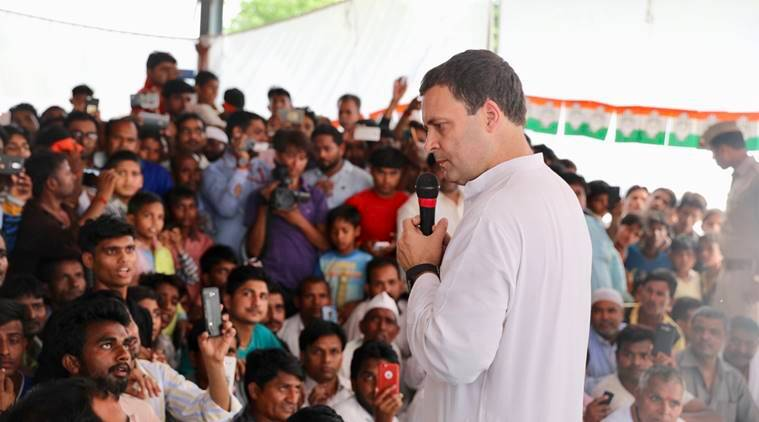 In 15 years, Amethi will be developed as Singapore, California: Rahul Gandhi
