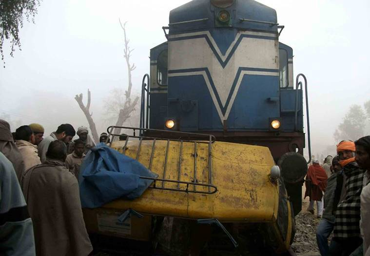 109 rail accidents at unmanned crossings took place in 2014-15