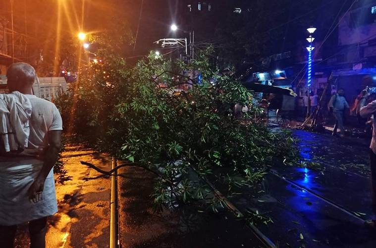 At least ten dead as twin storms hit West Bengal; rains lash Odisha, Jharkhand, Goa