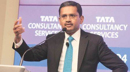 TCS m-cap soars Rs 41,301 crore in a day on Q4 profit