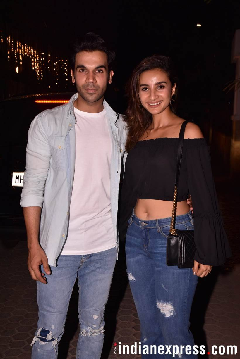 Rajkummar and Patralekhaa